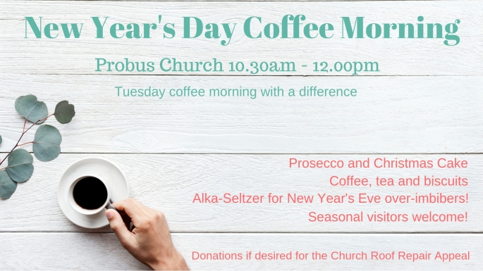New Year's Day Coffee Morning