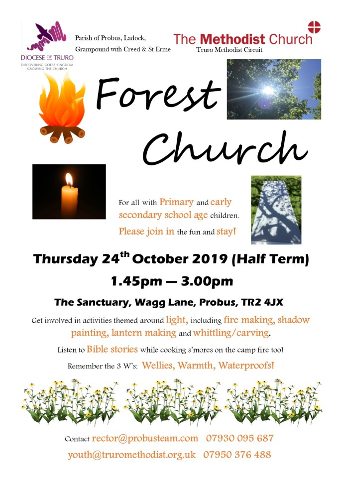 Forest Church Oct 2019 advert